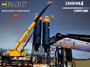 neue FABO MIX COMPACT-110 CONCRETE PLANT   CONVEYOR TYPE Betonmischanlage