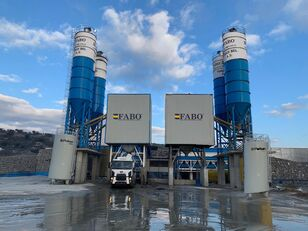 neue FABO POWERMIX-200 STATIONARY CONCRETE BATCHING PLANT Betonmischanlage