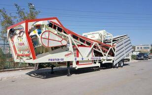 neue MESAS 100 m3/h MOBILE Concrete Batchıng Plant Betonmischanlage