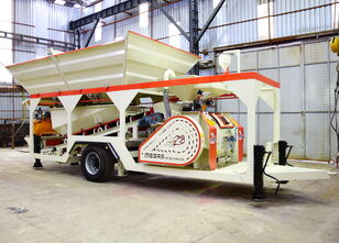 neue MESAS 35 m3/h MINI COMPACT Concrete Plant Betonmischanlage