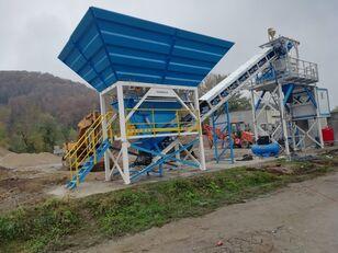 neue PROMAX Compact Concrete Batching Plant C60-SNG-PLUS (60m3/h) Betonmischanlage