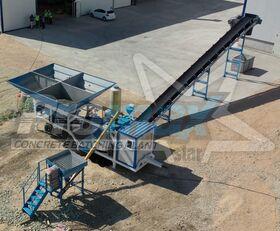 neue PROMAX Mobile Concrete Batching Plant M35-PLNT (35m3/h) Betonmischanlage