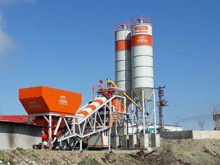 neue Plusmix 100 m³/hour Mobile Concrete Batching Plant - BETONYY ZAVOD - CEN Betonmischanlage