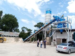 neue Plusmix 60m3/hour STATIONARY Concrete Batching Plant - BETONYY ZAVOD-CEN Betonmischanlage