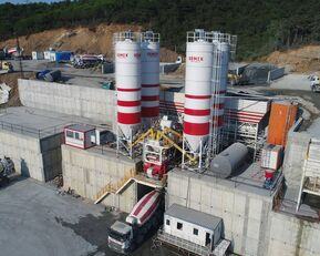 neue SEMIX LES CENTRALES À BÉTON FIXES Stationnaire 200 Betonmischanlage