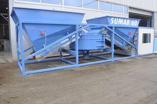 neue SUMAB OFFER! K-60 (60m3/h) Mobile concrete plant Betonmischanlage