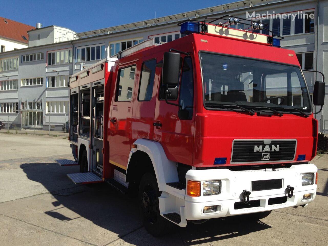 MAN HLF mit 4x4 Feuerwehrauto